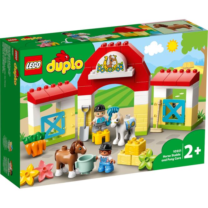 LEGO® DUPLO® Town 10951 - Pferdestall und Ponypflege