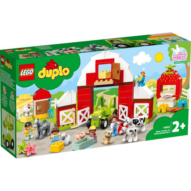 LEGO® DUPLO® Town 10952 - Scheune, Traktor und Tierpflege