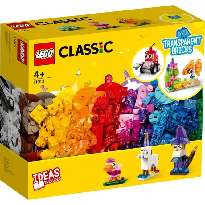 LEGO® Classic 11014 - Steinebox mit Rädern