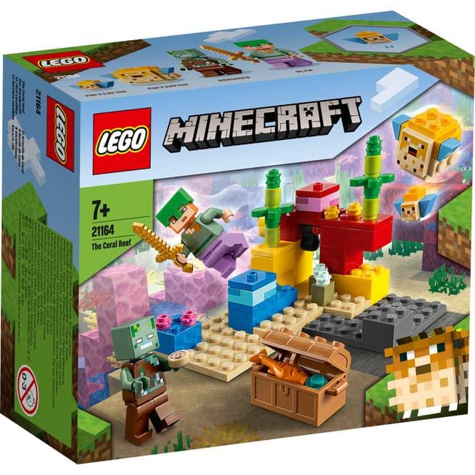 LEGO® Minecraft™ 21164 - Das Korallenriff