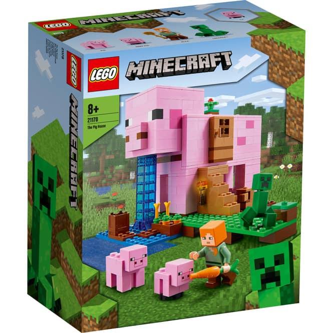LEGO® Minecraft™ 21170 - Das Schweinehaus