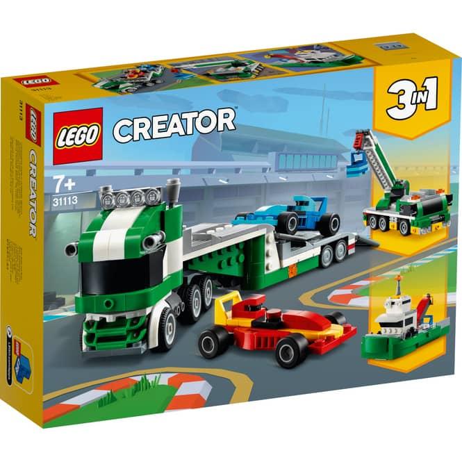 LEGO® Creator 31113 - Rennwagentransporter