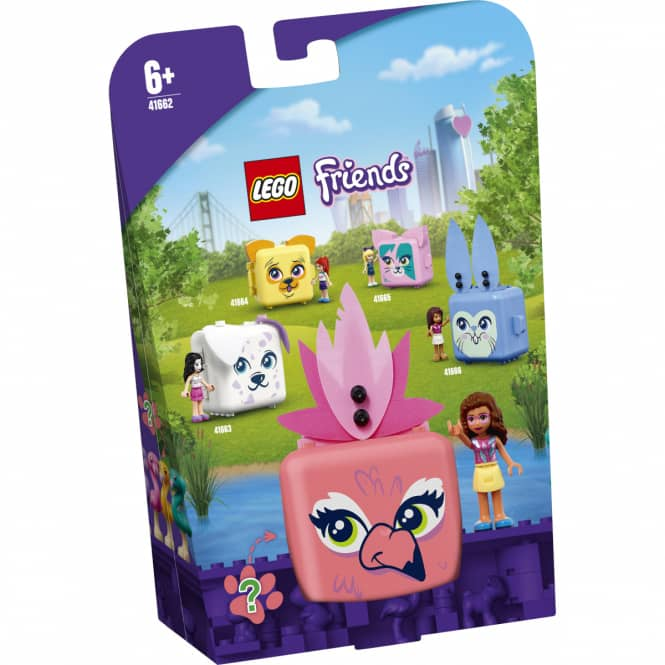 LEGO® Friends Magische Würfel 41662 - Olivias Flamingo-Würfel