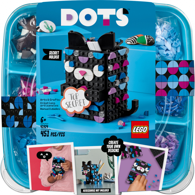 LEGO® DOTS 41924 - Geheimbox Katze