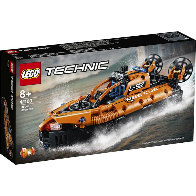 LEGO® Technic 42120 - Luftkissenboot für Rettungseinsätze