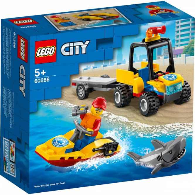 LEGO® City Great Vehicles 60286 - Strand-Rettungsquad