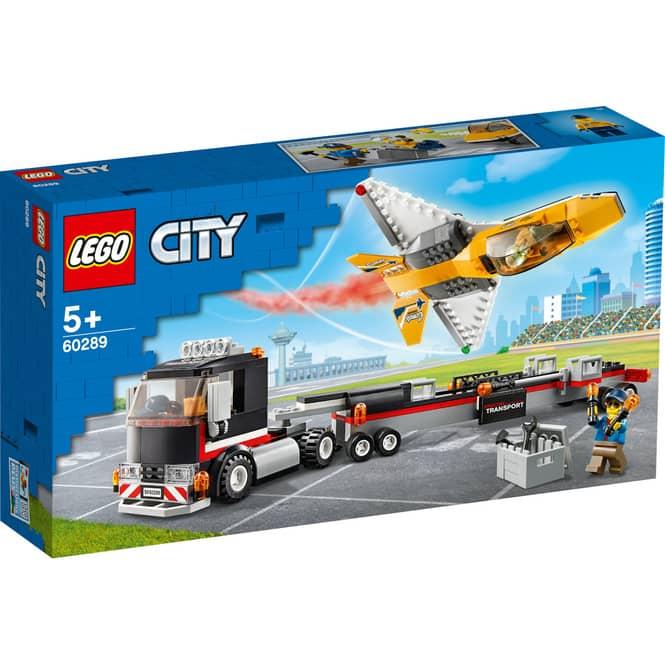 LEGO® City Great Vehicles 60289 - Flugshow-Jet-Transporter