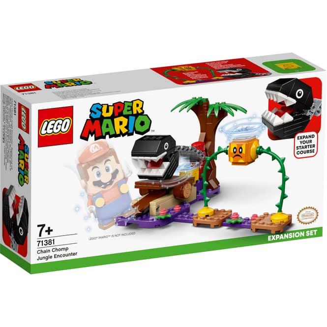 LEGO® Super Mario™ 71381 - Begegnung mit dem Kettenhund - Erweiterungsset