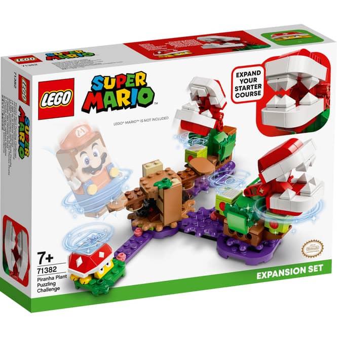 LEGO® Super Mario™ 71382 - Piranha-Pflanzen-Herausforderung - Erweiterungsset