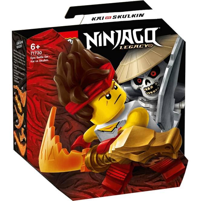 LEGO® NINJAGO 71730 - Battle Set: Kai vs. Skulkin