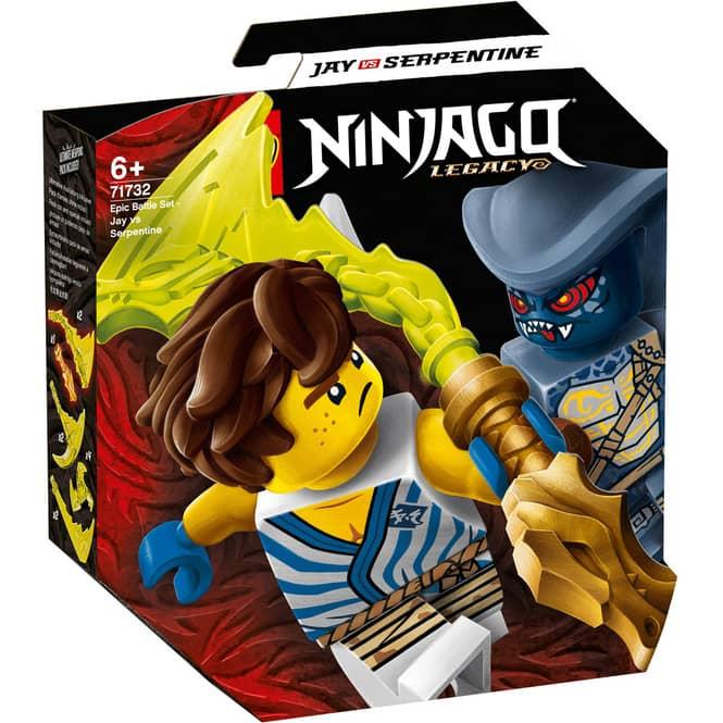 LEGO® NINJAGO 71732 - Battle Set: Jay vs. Serpentine