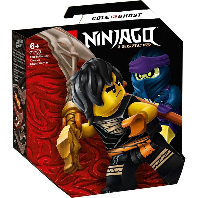 LEGO® NINJAGO 71733 - Battle Set: Cole vs. Geisterkämpfer