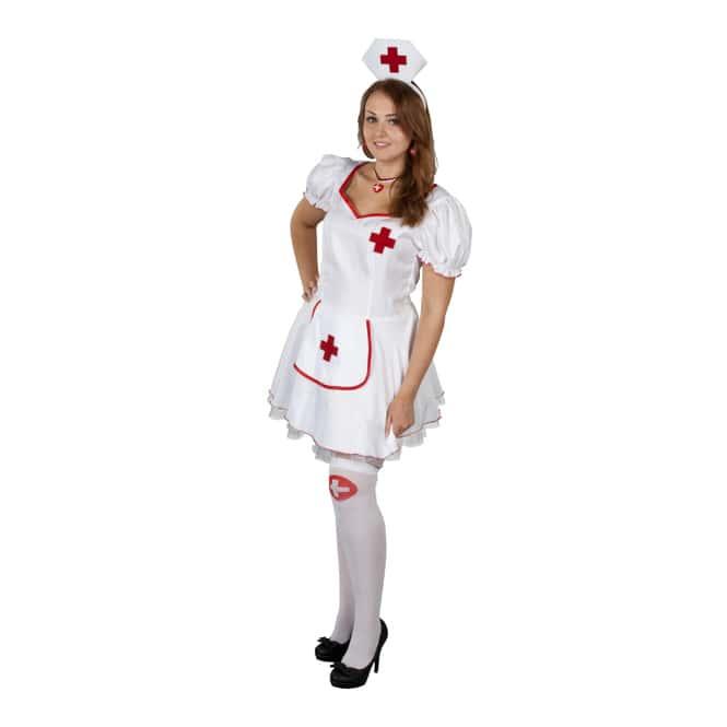 Kostüm - Krankenschwester, für Erwachsene, 2-teilig
