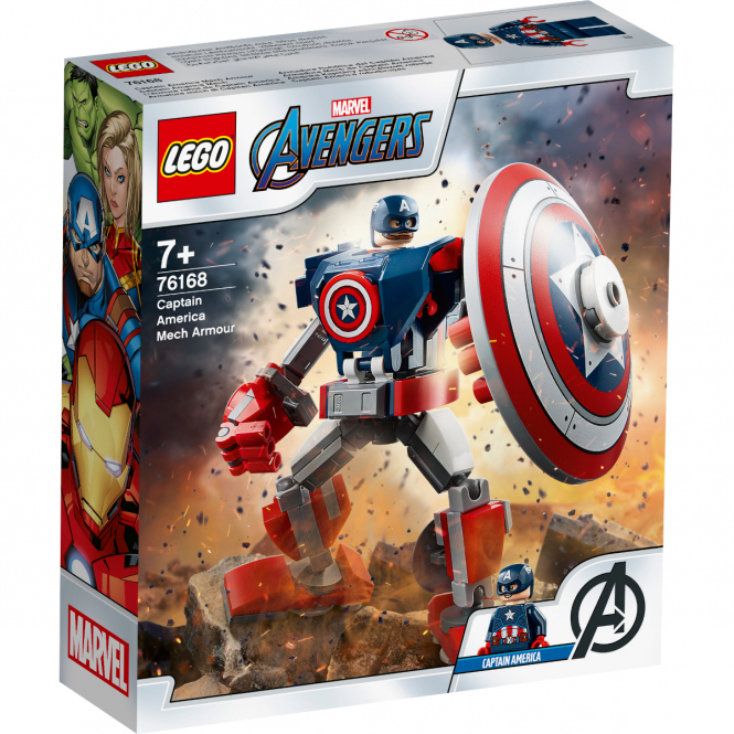 LEGO® Marvel Avengers Movie 4 76168 - Captain America Mech