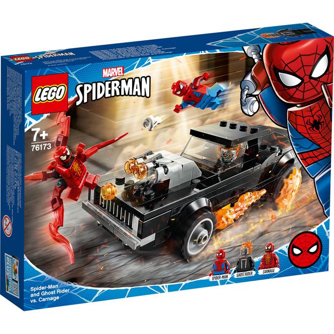LEGO® Marvel Super Heroes 76173 - Spider-Man und Ghost Rider vs. Carnage