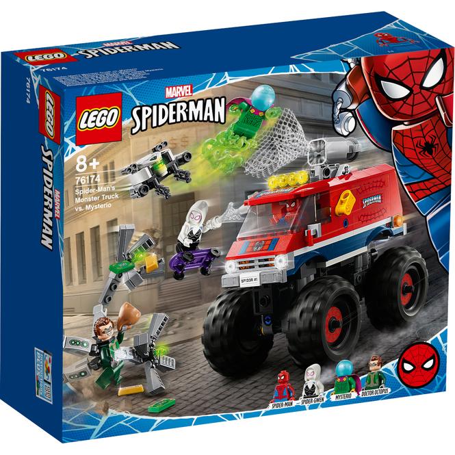 LEGO® Marvel Super Heroes 76174 - Spider-Mans Monstertruck vs. Mysterio