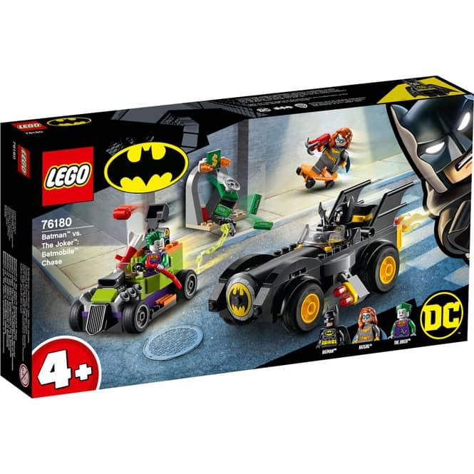 LEGO® DC Comics Super Heroes 76180 - Batman™ vs. Joker™: Verfolgungsjagd im Batmobil