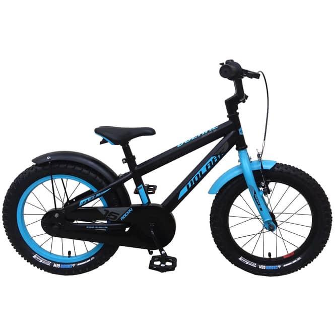 Fahrrad - Volare Rocky - 16 Zoll - schwarz/blau
