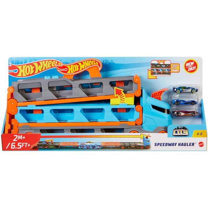 Hot Wheels City - 2 in 1 Rennbahn-Transporter