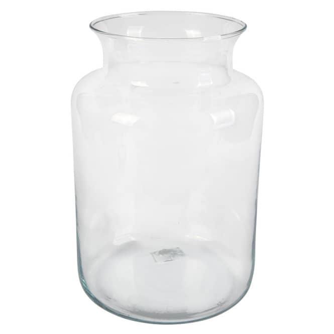 Vase - aus Glas - ca. 17 x 25 cm - klar