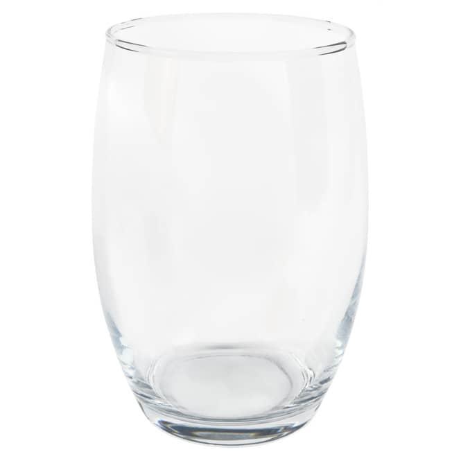 Vase - aus Glas - ca. 14 x 19,5 cm