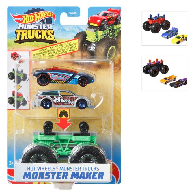 Hot Wheels Monster Trucks - Monster Maker - 1 Stück