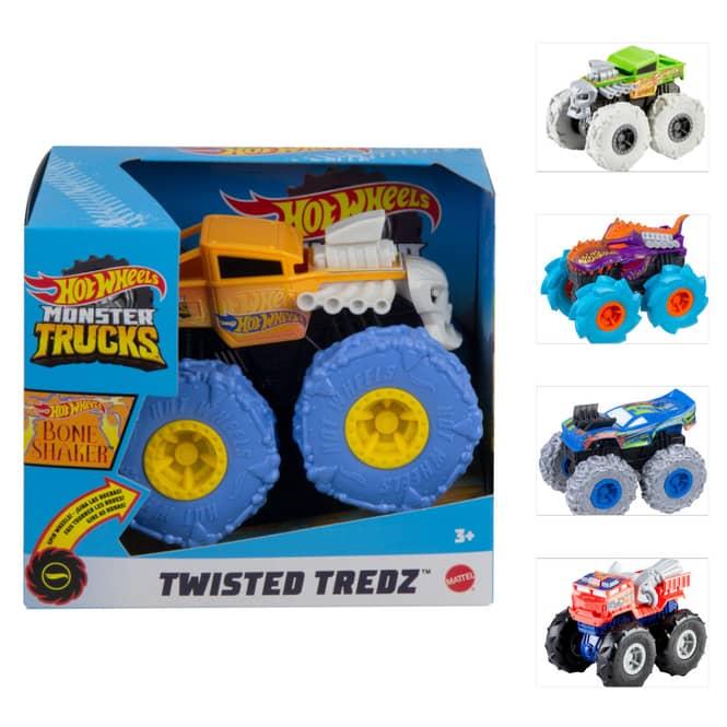 Hot Wheels Monster Trucks -  Twisted Tredz - 1 Stück