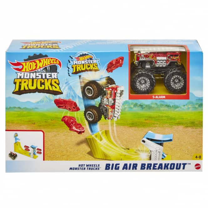 Hot Wheels Monster Trucks - Spielset - Big Air Breakout