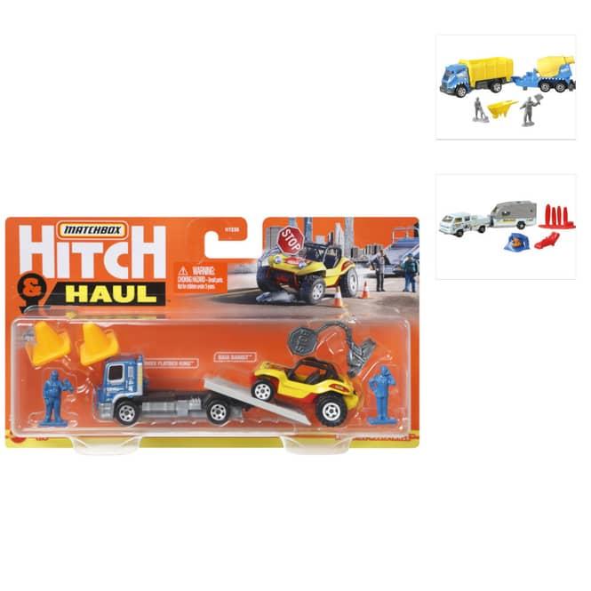 Matchbox - Fahrzeug inkl. Minifigur - Hitch' N Haul Sortiment - 1 Stück