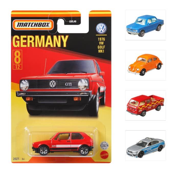 Matchbox - Fahrzeug - Best of Germany Sortiment - 1 Stück