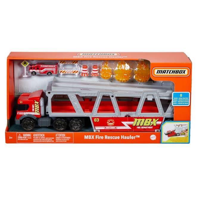 Matchbox - Fahrzeug - Feuerwehr-Schlepper