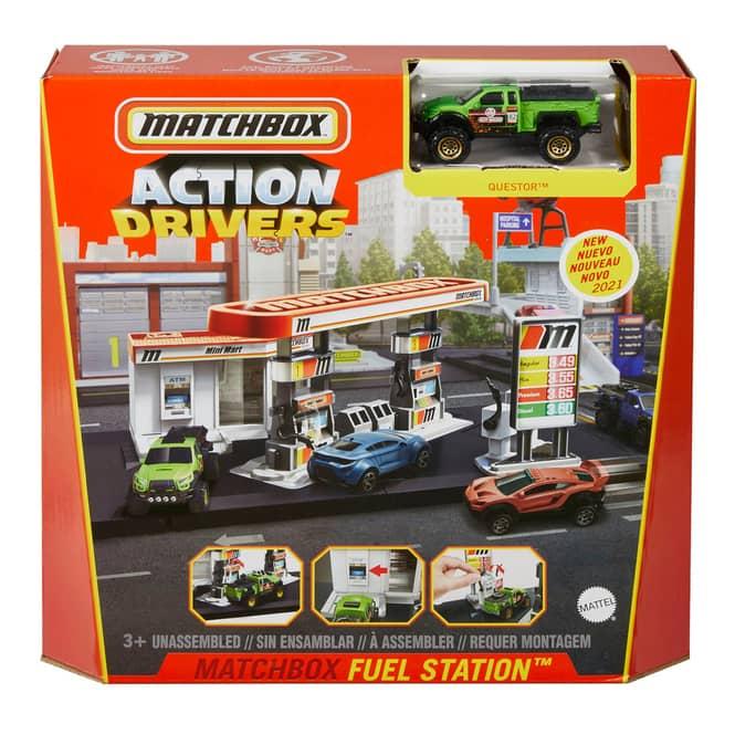 Matchbox - Spielset - Tankstelle