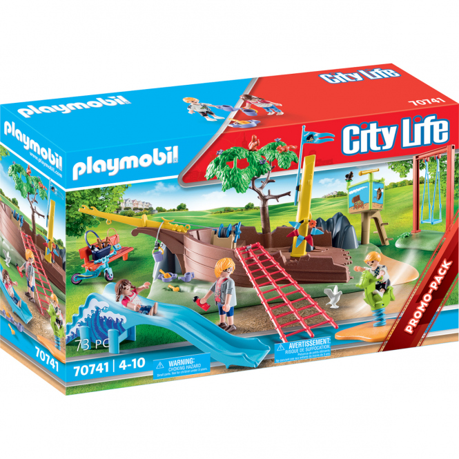 Playmobil® 70741 - Abenteuerspielplatz mit Schiffswrack - Playmobil® City Life