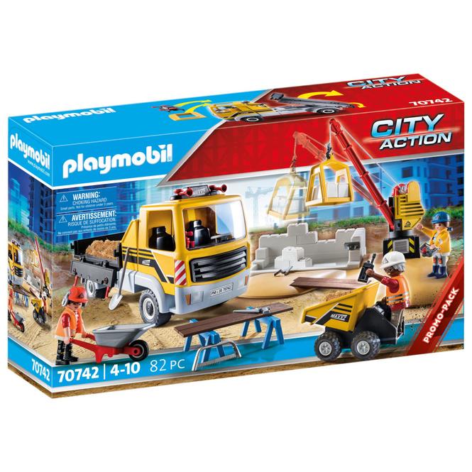 Playmobil® 70742 - Baustelle mit Kipplaster - Playmobil® City Life