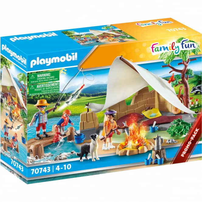 PLAYMOBIL®70743 - Familie beim Campingausflug - Playmobil®Family Fun