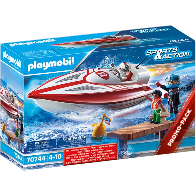 PLAYMOBIL®70744 - Speedboot mit Unterwassermotor - Playmobil®Sport & Action