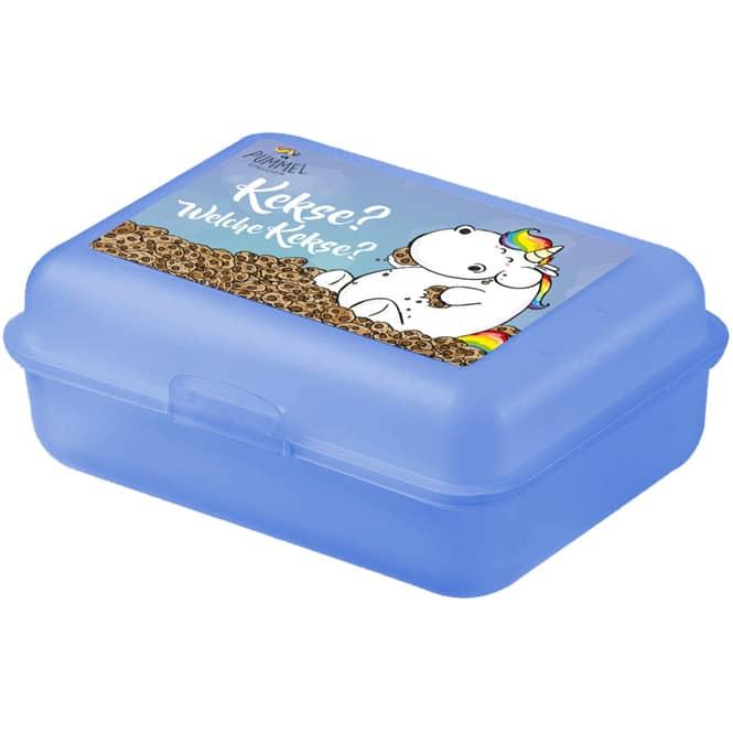 Pummeleinhorn - Brotdose - blau