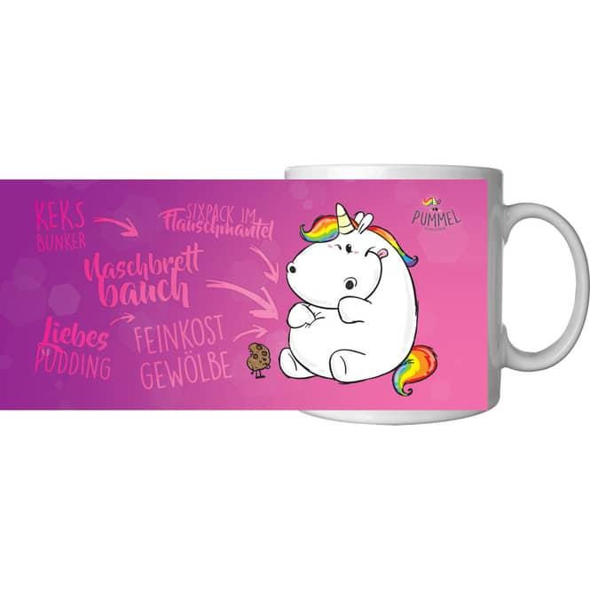 Pummeleinhorn - Tasse - pink