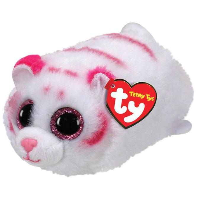 Teeny Ty - Tiger Tabor - weiß - ca. 10 cm