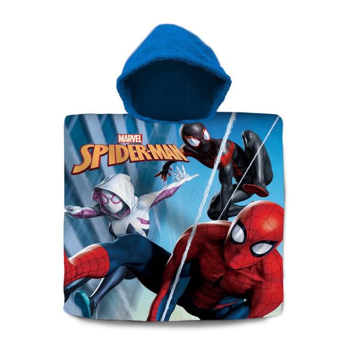 Spiderman - Badeponcho - ca. 60 x 120 cm