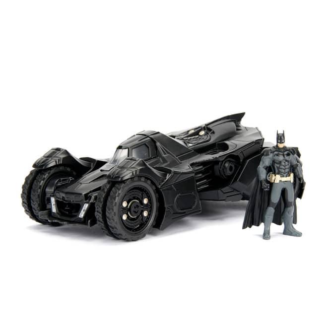 Jada - Batman Arkham Knight Batmobil mit Batman-Figur