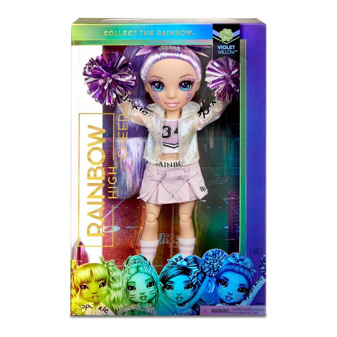 Rainbow High - Cheerleading Puppe - Violet Willow