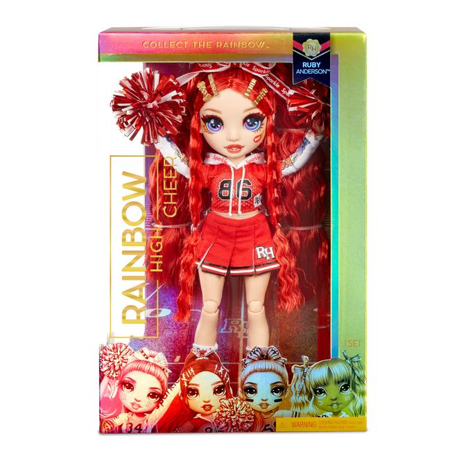 Rainbow High - Cheerleading Puppe - Ruby Anderson