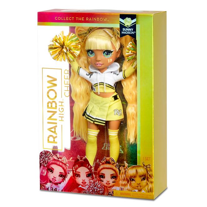 Rainbow High - Cheerleading Puppe - Sunny Madison