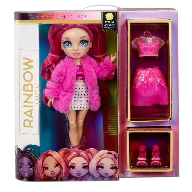 Rainbow High - Fashion Puppe - Stella Monroe