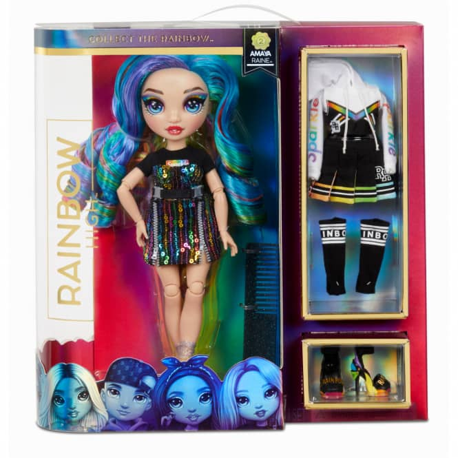Rainbow High - Fashion Puppe - Amaya Raine