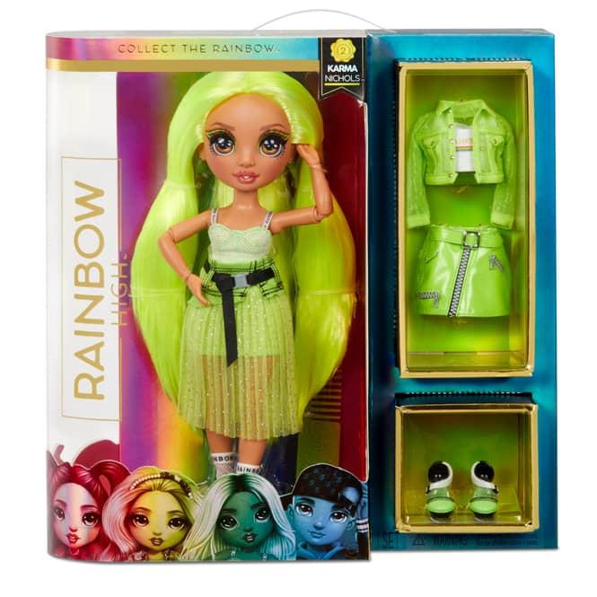 Rainbow High - Fashion Puppe - Karma Nichols