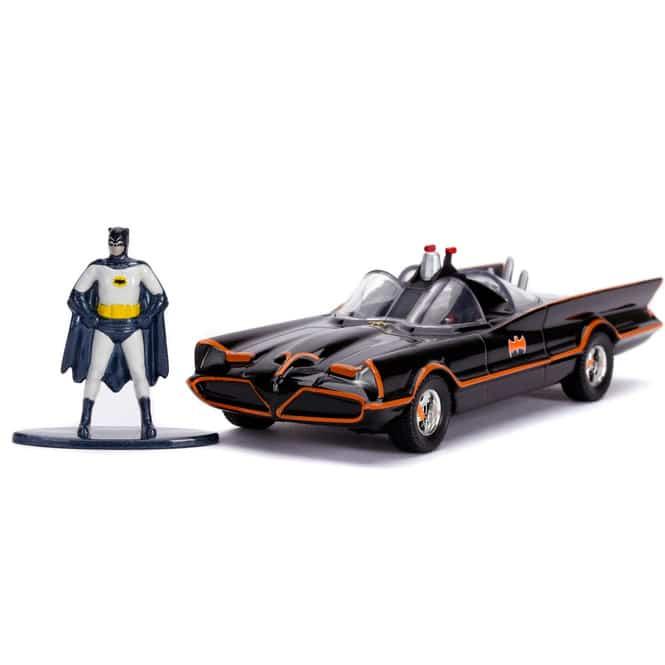 Jada - Classic Batmobil 1966 mit Batman-Figur - 1:32