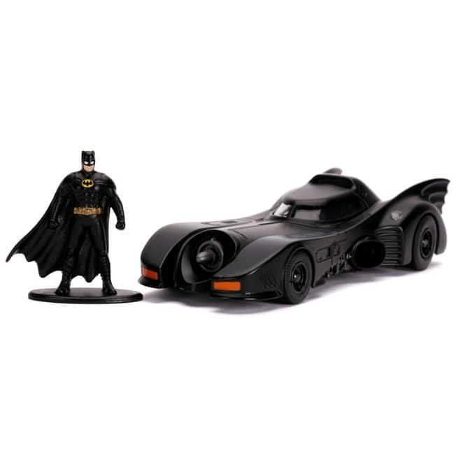Jada - Batmobil 1989 mit Batman-Figur - 1:32