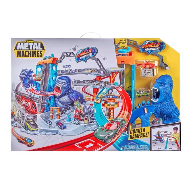 Zuru Metal Machines Rennbahn - Gorilla Rampage